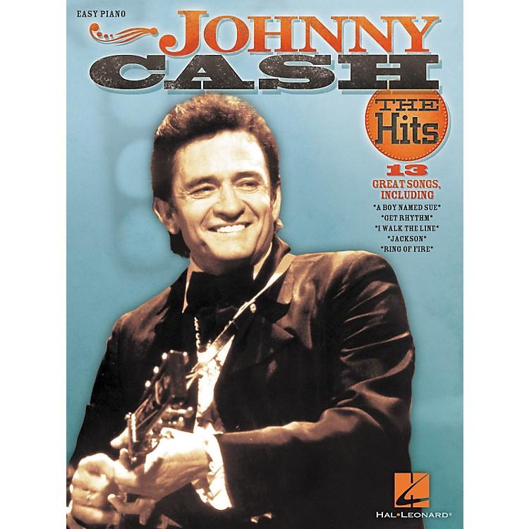 Hal LeonardJohnny Cash - The Hits For Easy Piano