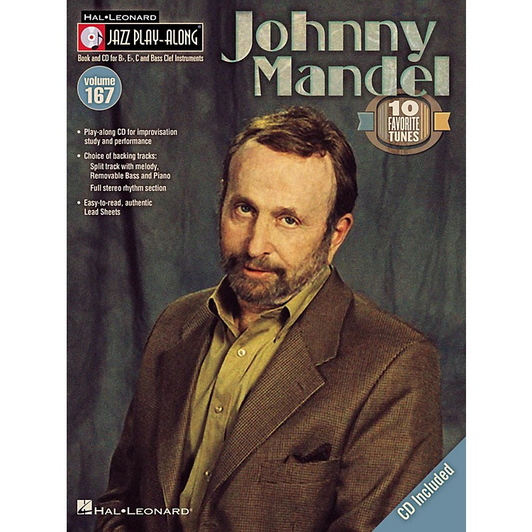 Hal Leonard Johnny Mandel - Jazz Play-Along Volume 167 Book/CD