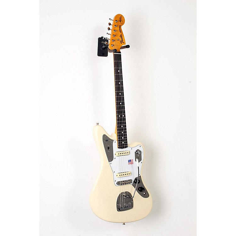 Fender Johnny Marr Jaguar Electric Guitar Olympic White, Rosewood Fingerboard 888365911489