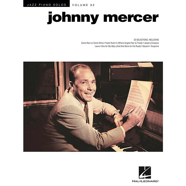 Hal LeonardJohnny Mercer - Jazz Piano Solos Series Vol. 32