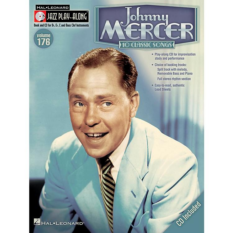 Hal LeonardJohnny Mercer - Jazz Play-Along Volume 176 Book/CD