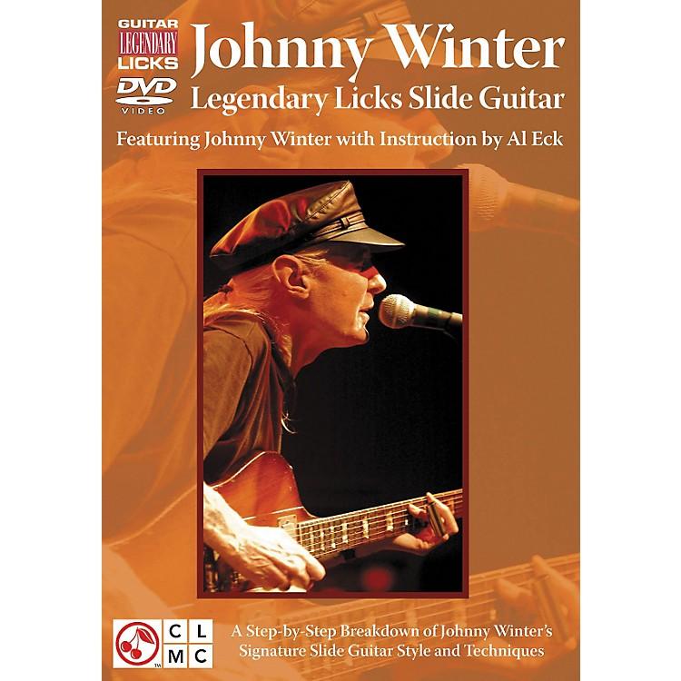 Cherry LaneJohnny Winter Legendary Licks Slide Guitar DVD