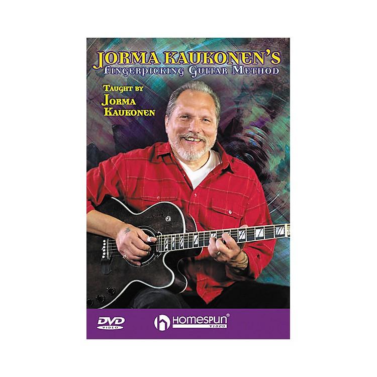 HomespunJorma Kaukonen's Fingerpicking Guitar Method 2-Video Set (DVD)