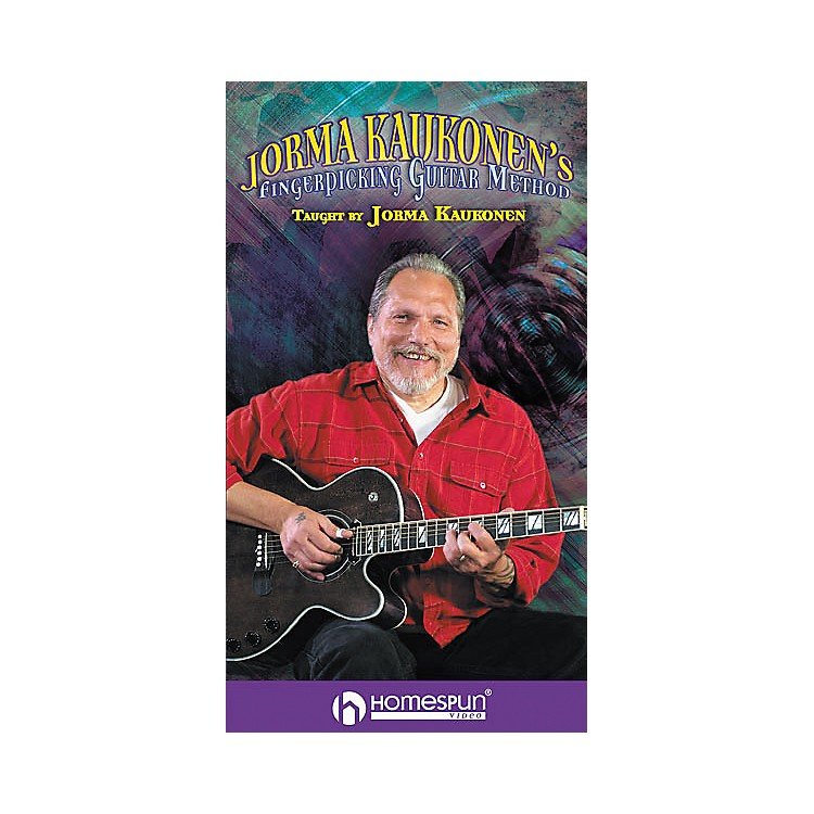 HomespunJorma Kaukonen's Fingerpicking Guitar Method 2-Video Set (VHS)