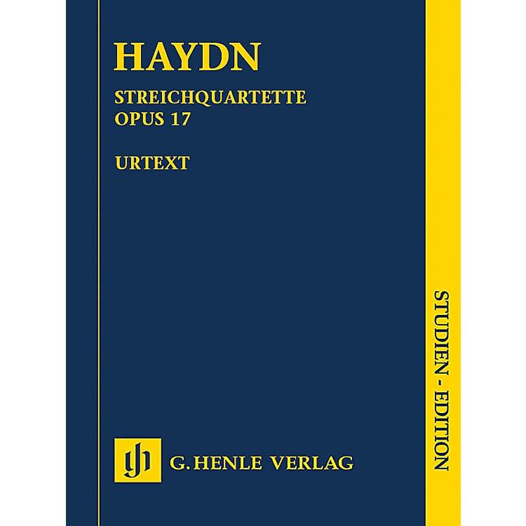 G. Henle VerlagJoseph Haydn - String Quartets Volume III, Op. 17 Henle Music Folios Series Softcover by Joseph Haydn