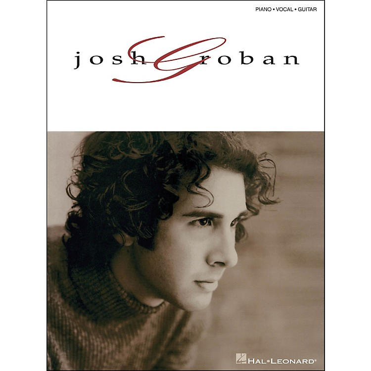 Hal LeonardJosh Groban arranged for piano, vocal, and guitar (P/V/G)