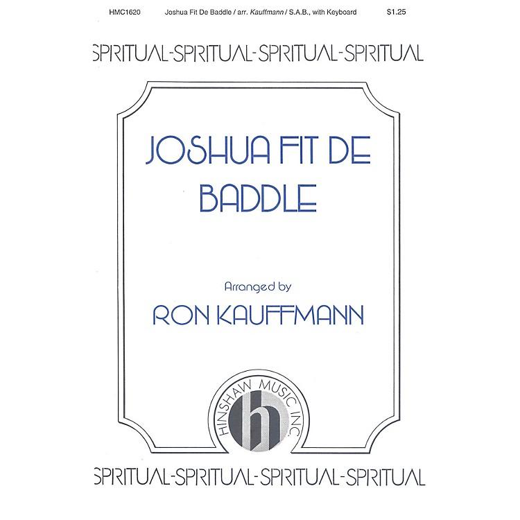Hinshaw MusicJoshua Fit de Baddle SAB arranged by Ronald Kauffmann