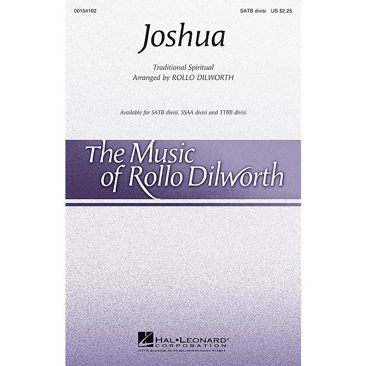 Hal LeonardJoshua SSAA DIVISI Arranged by Rollo Dilworth