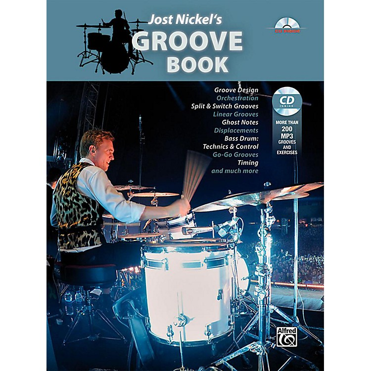 AlfredJost Nickel's Groove Book - Book & CD
