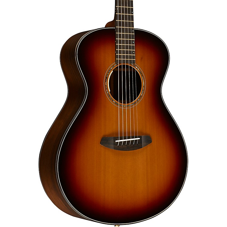 Breedlove Journey Concert Black Cherry FS E Western Red Cedar - Brazilian Rosewood Acoustic-Electric Guitar Cherry Burst