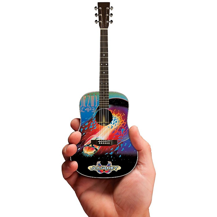 Axe Heaven Journey Escape Album Acoustic Miniature Guitar Replica Collectible
