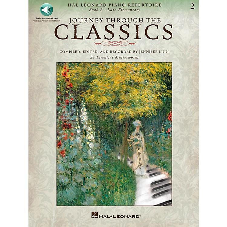 Hal LeonardJourney Through The Classics - Book 2 Late Elementary Book/Online Audio