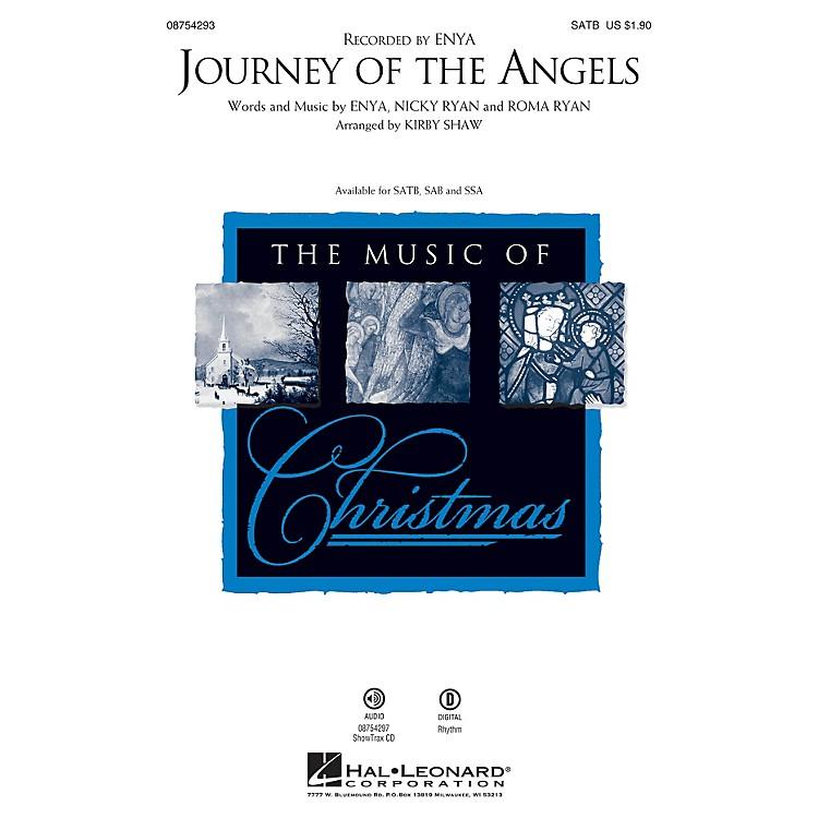 Hal LeonardJourney of the Angels SSA by Enya Arranged by Kirby Shaw