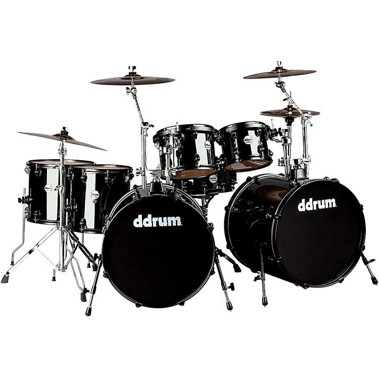 DdrumJourneyman2 Double Bass 7-Piece Drum SetMidnight Black