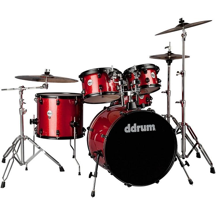 DdrumJourneyman2 Series Player 5-piece Drum Kit with 22 in. Bass DrumRed Sparkle