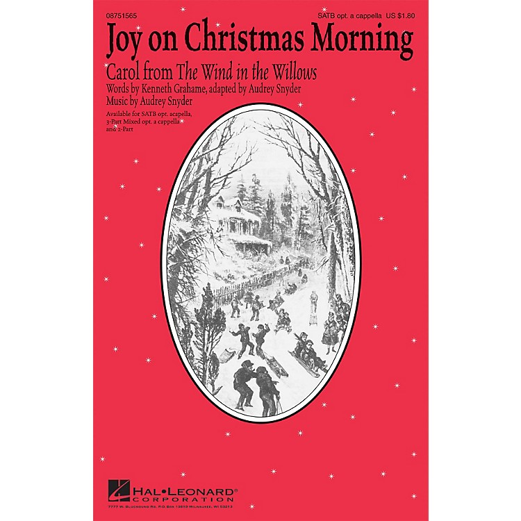 Hal LeonardJoy on Christmas Morning 3-PART MIXED, OPTIONAL ACAPPEL Composed by Audrey Snyder