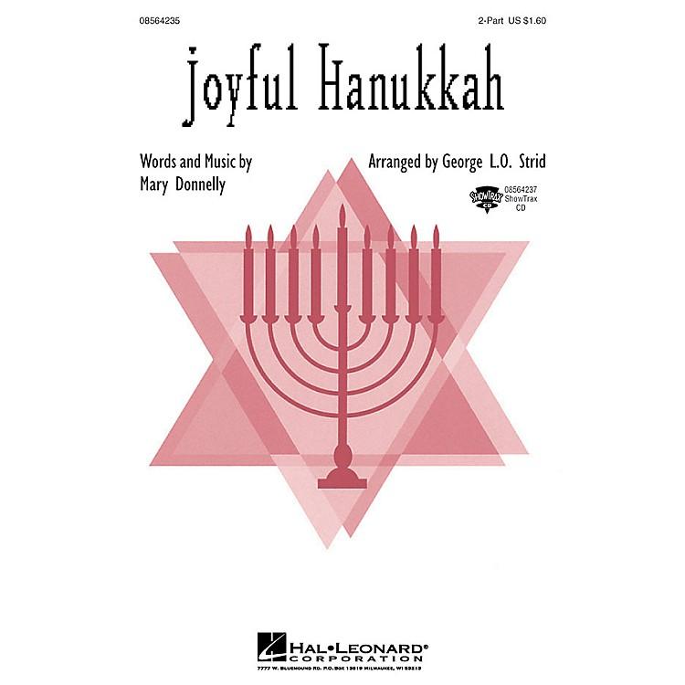 Hal LeonardJoyful Hanukkah ShowTrax CD Arranged by George L.O. Strid