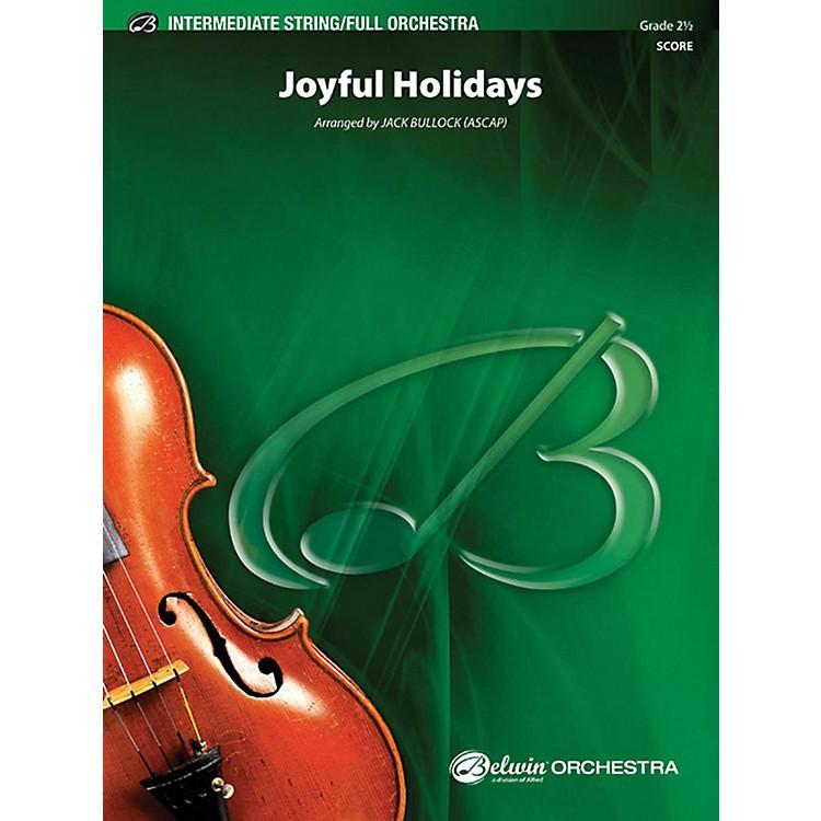 AlfredJoyful Holidays Full Orchestra Grade 2.5