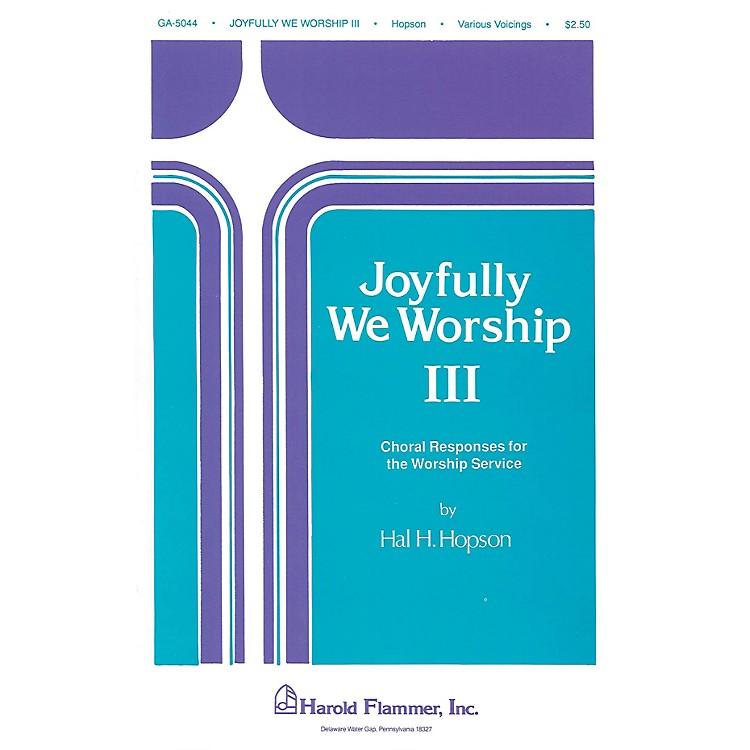 Shawnee PressJoyfully We Worship - Volume 3 SATB