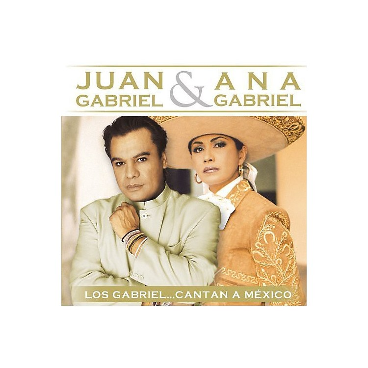 Alliance Juan Gabriel - Los Gabriel Cantan A Mexico (CD)