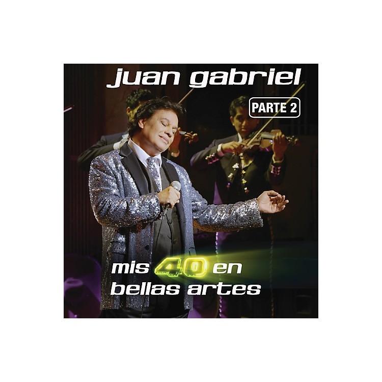 AllianceJuan Gabriel - Mis 40 en Bellas Artes Parte 2 (CD)