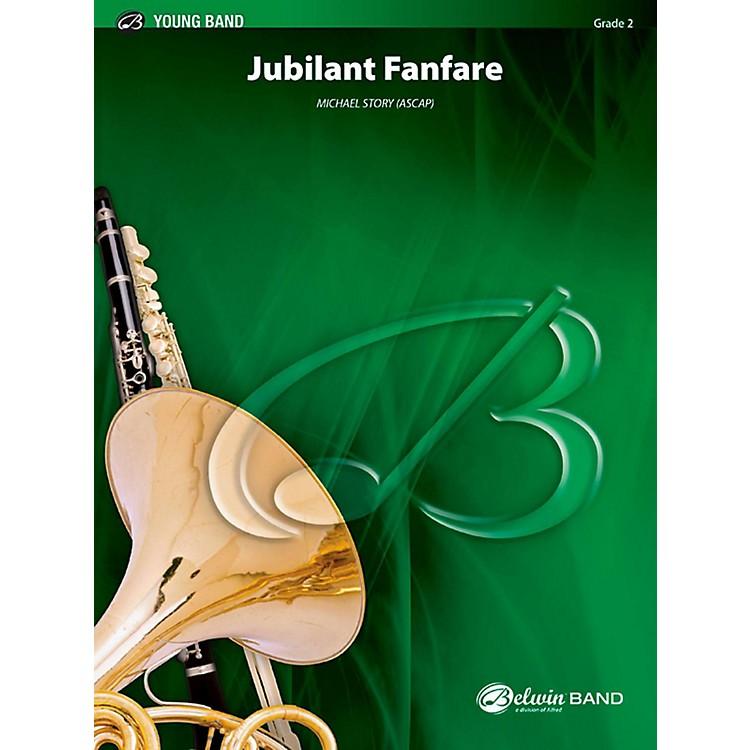 BELWINJubilant Fanfare Concert Band Grade 2 (Easy)