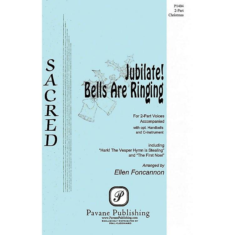 PavaneJubilate! Bells Are Ringing 2-Part arranged by Ellen Foncannon