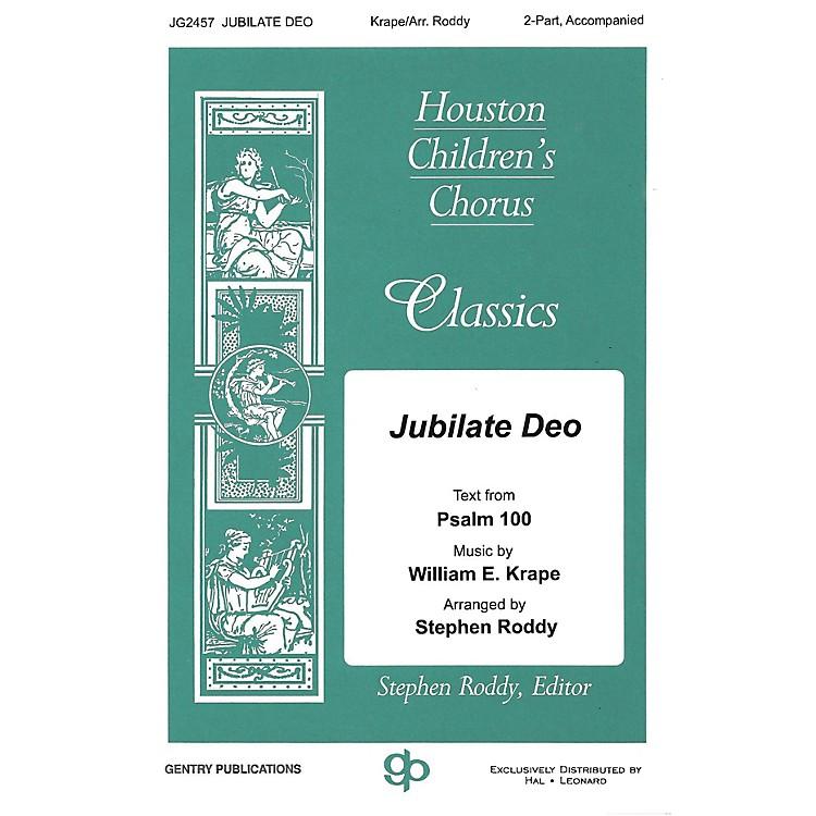 Gentry PublicationsJubilate Deo 2-Part arranged by Stephen Roddy