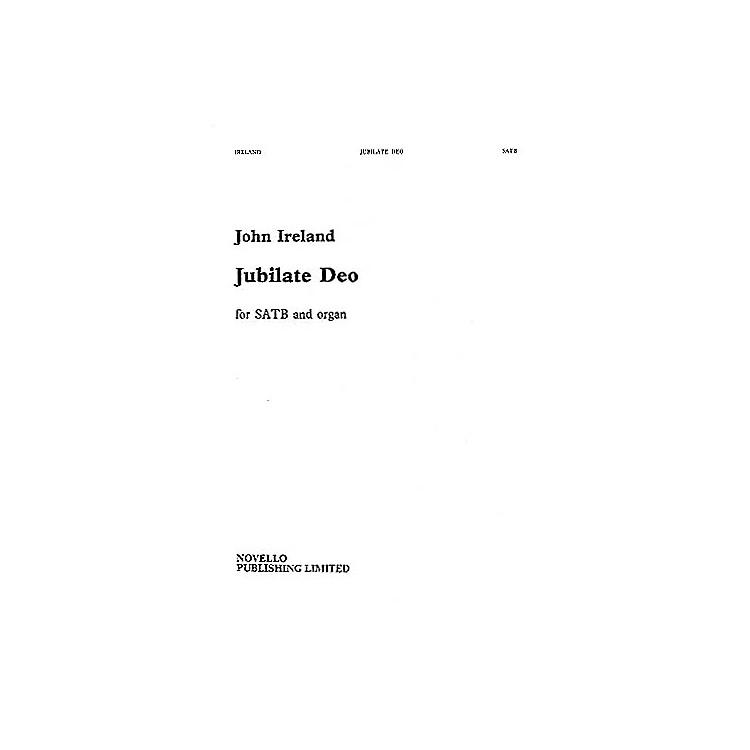 NovelloJubilate Deo in F SATB Composed by John Ireland