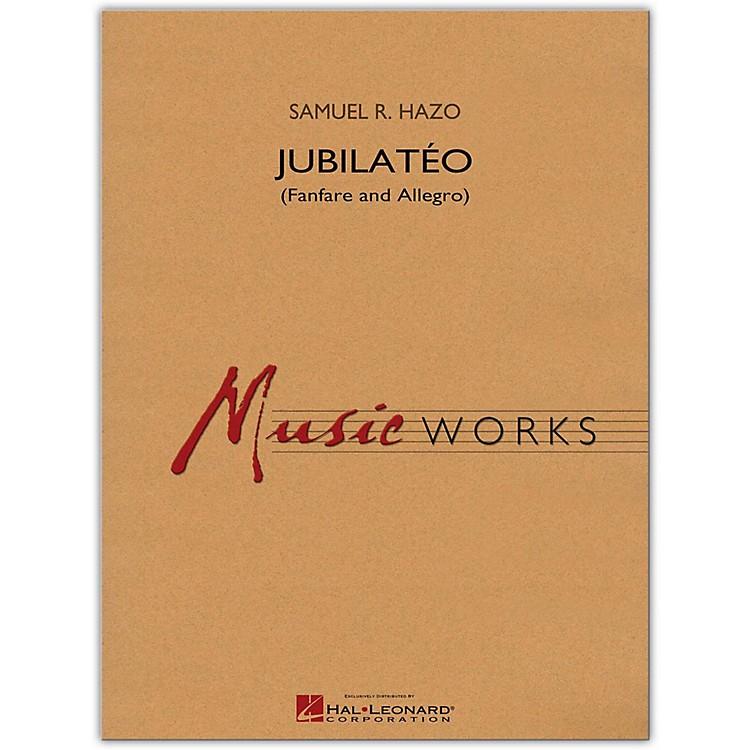 Hal LeonardJubilato (Fanfare and Allegro) MusicWorks Concert Band Grade 5