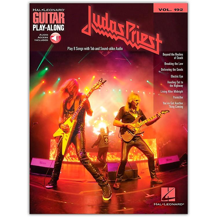Hal LeonardJudas Priest Guitar Play-Along Series Softcover Audio Online Performed by Judas Priest