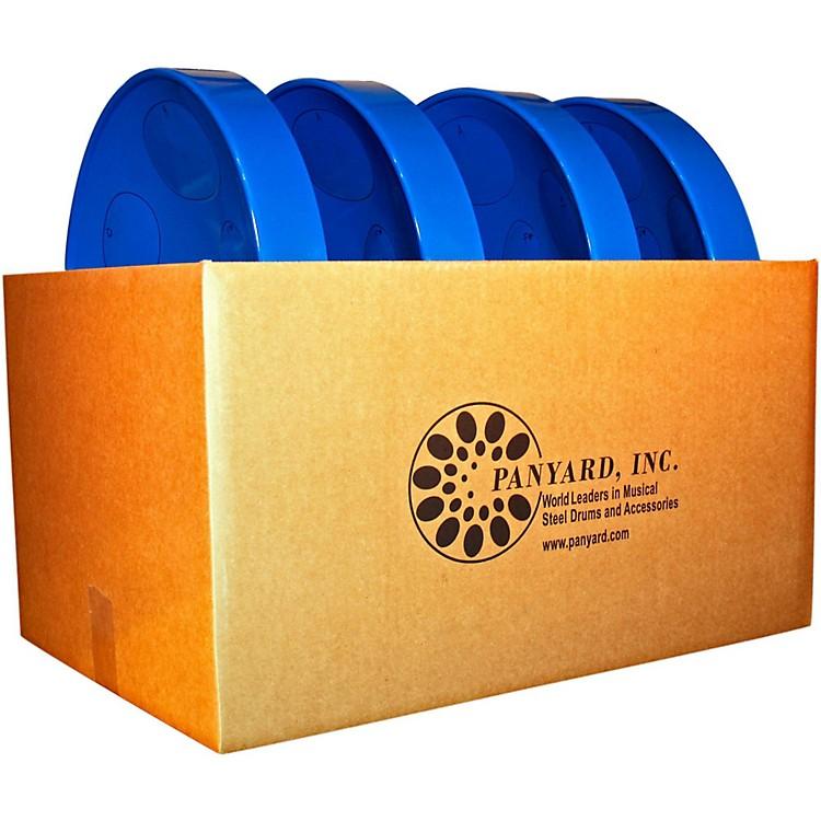 PanyardJumbie Jam Educator's Steel Drum 4-Pack with Table Top StandsBlue