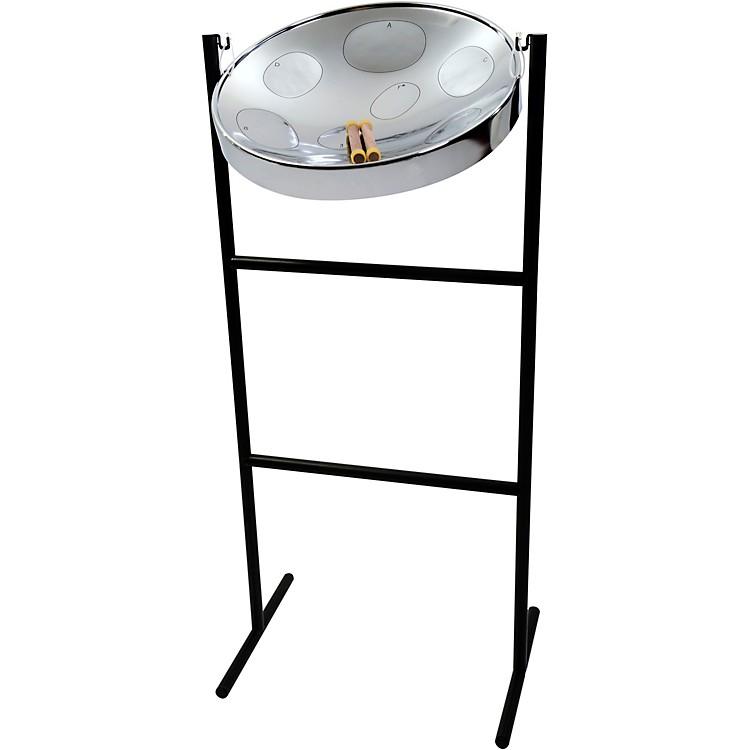 PanyardJumbie Jam Steel Drum Kit with Tube Floor StandChrome