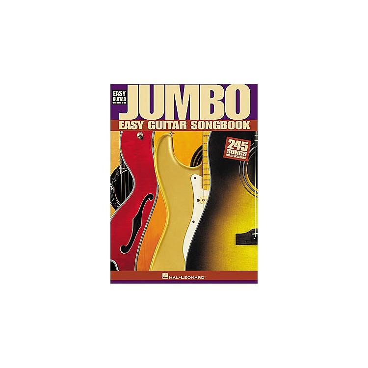 Hal LeonardJumbo Easy Guitar Tab Book