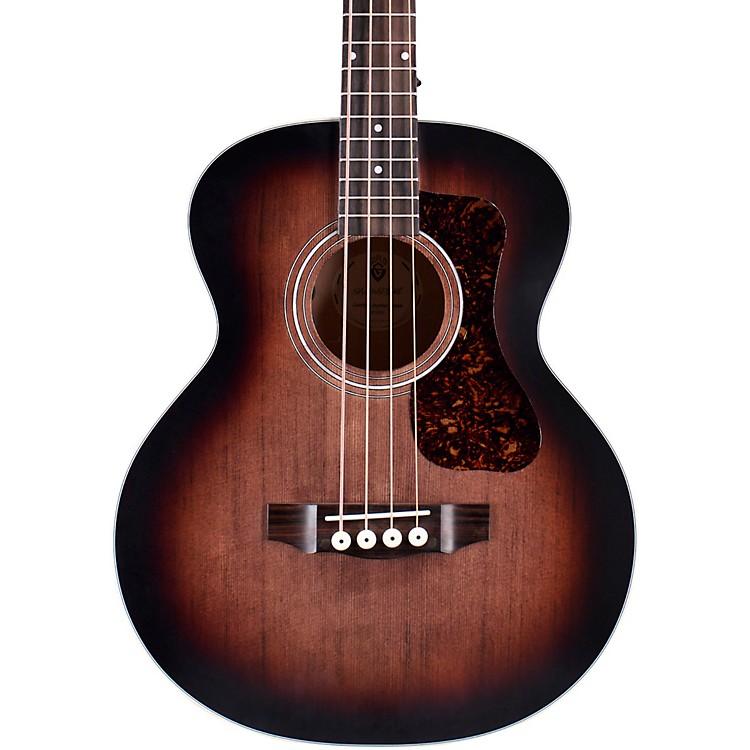 GuildJumbo Junior Acoustic-Electric Bass GuitarCharcoal Burst