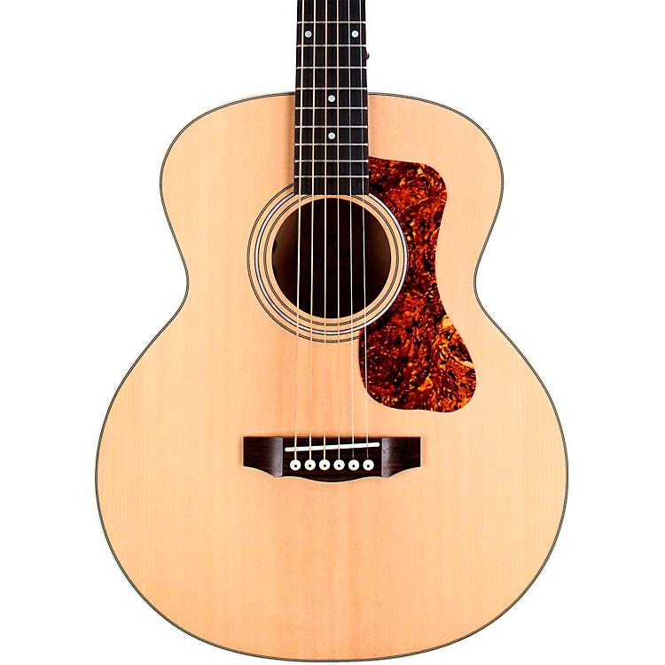GuildJumbo Junior Flamed Maple Acoustic-Electric GuitarNatural