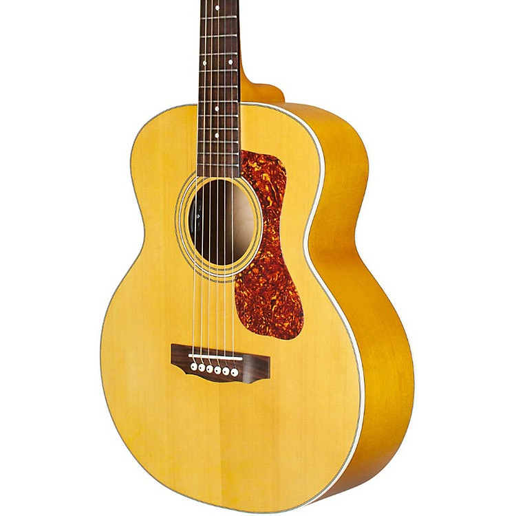 Guild Jumbo Junior Maple Acoustic-Electric Guitar Natural