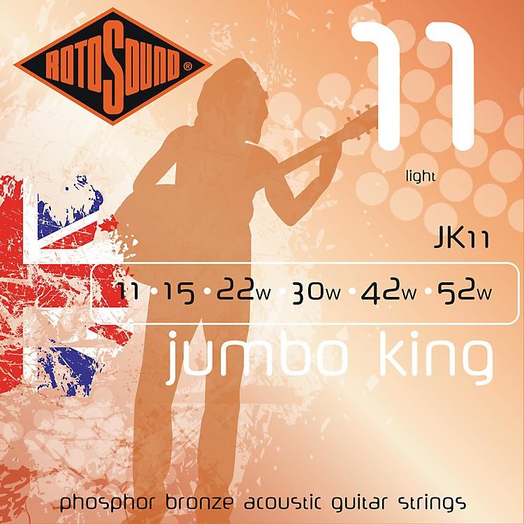 RotosoundJumbo King Light Phosphor Bronze Acoustic Guitar Strings