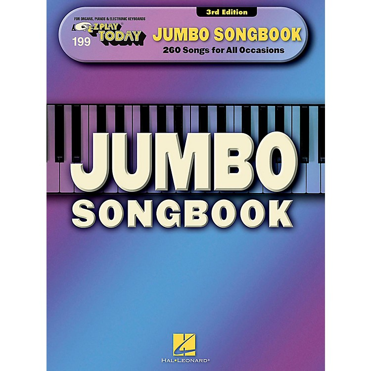 Hal Leonard Jumbo Songbook E-Z Play Today #199