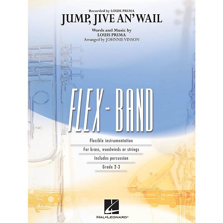 Hal LeonardJump, Jive an' Wail Concert Band Level 2-3 Arranged by Johnnie Vinson