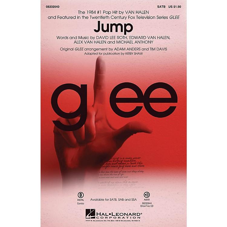 Hal LeonardJump (from Glee) SATB by Van Halen arranged by Adam Anders