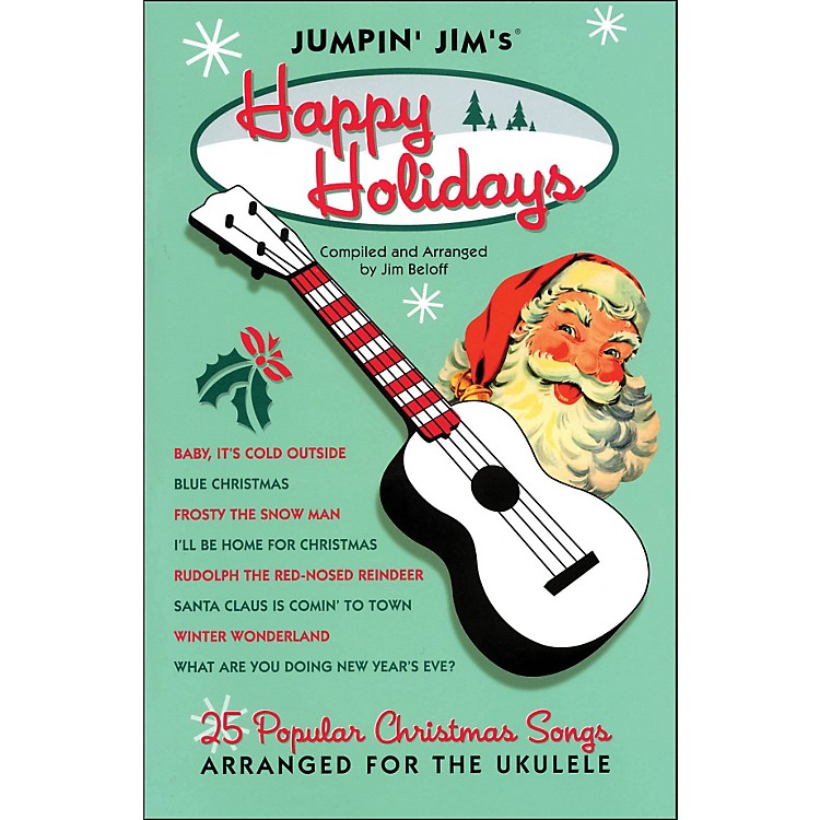 Hal LeonardJumpin' Jim's Happy Holidays Uke Songbook