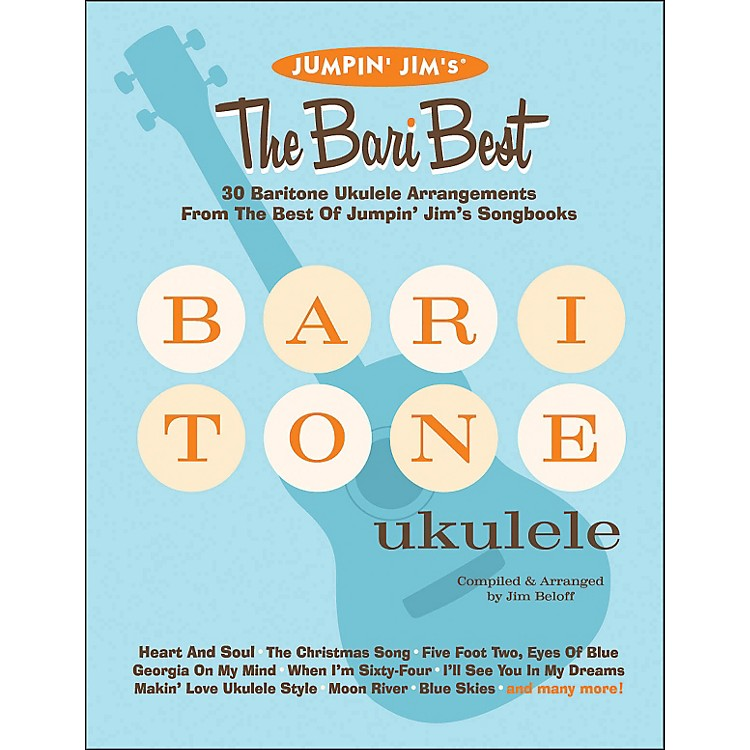 Hal LeonardJumpin' Jim's The Bari Best 30 Baritone Ukulele Arrangements Songbook