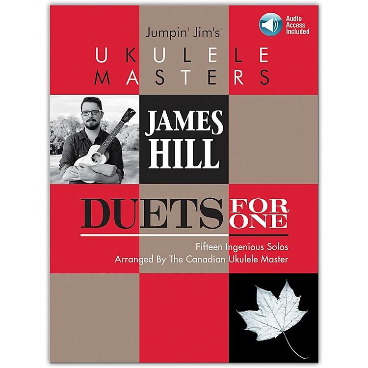 Hal LeonardJumpin' Jim's Ukulele Masters: James Hill - Duets For One Book/Audio Online