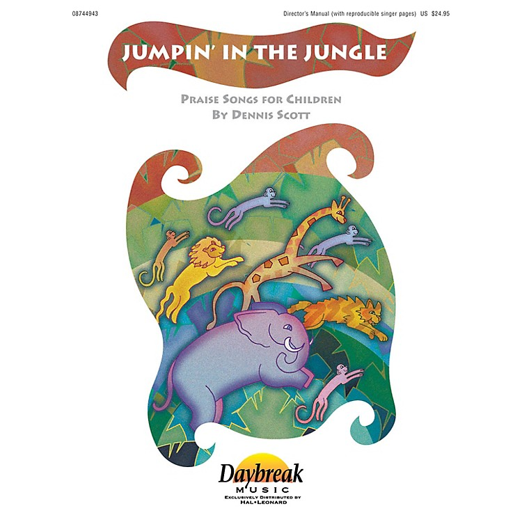 Daybreak MusicJumpin' in the Jungle CD 10-PAK Composed by Dennis Scott