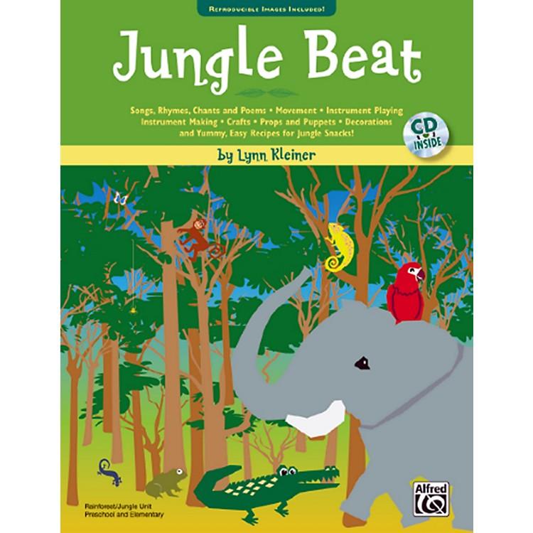 AlfredJungle Beat Book & CD