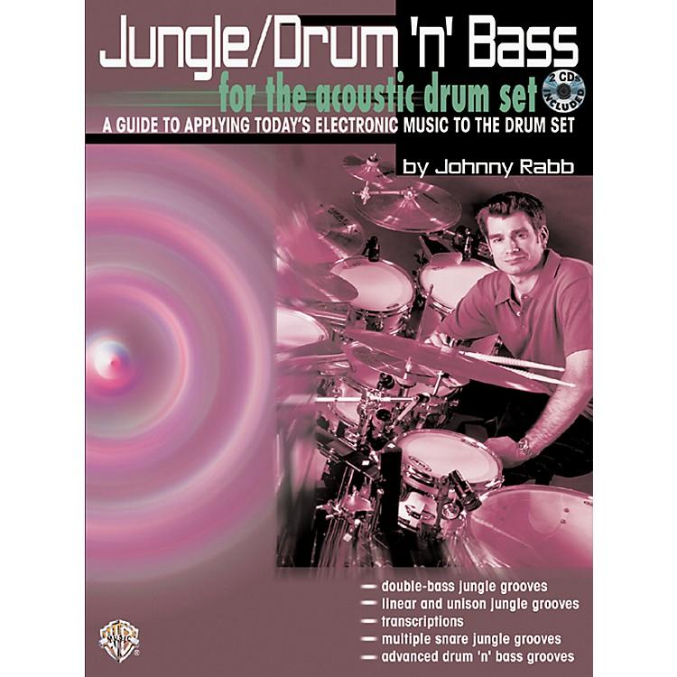 AlfredJungle Drum 'n' Bass (Book/CD)