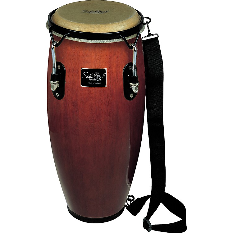 Schalloch Junior Conga with Black Hardware Brown 8 in.