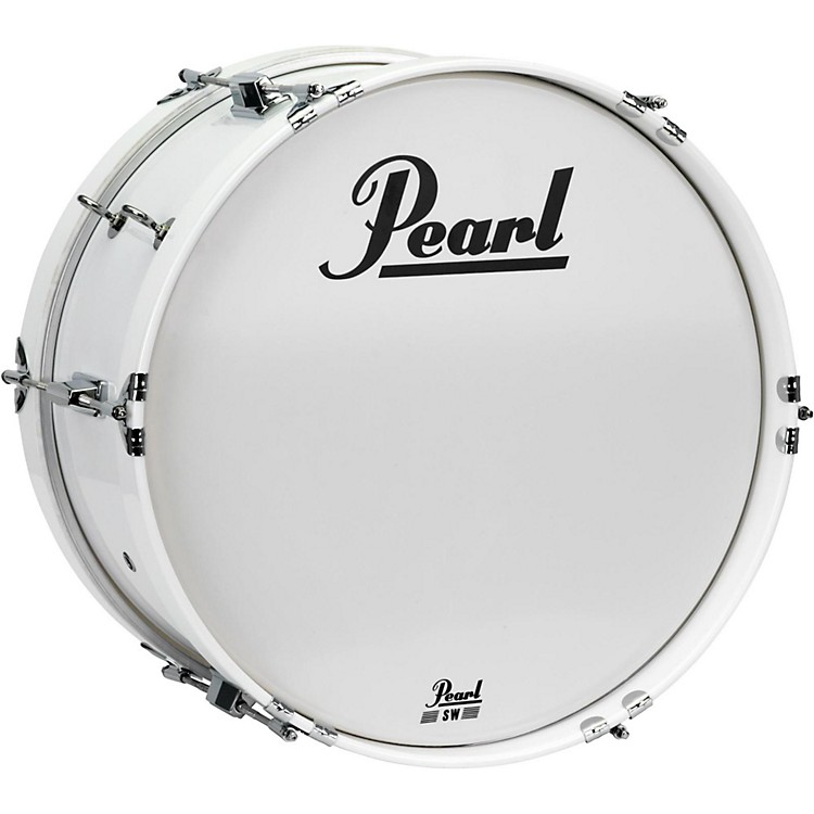 Pearl Junior Marching Bass Drum and Carrier 14 x 8 in.