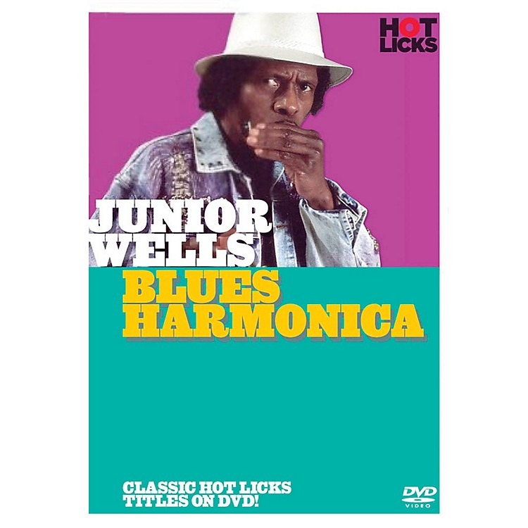 Music Sales Junior Wells - Blues Harmonica Music Sales America Series DVD Written by Junior Wells